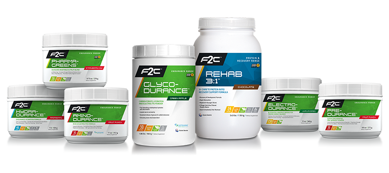 F2C Nutrition Product Line Up