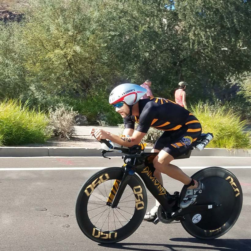 Jesse Vendrecek - F2C Pro Triathlete